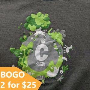 "Threadless Vintage 2007 ""CARBON"" Graphic T-shirt"